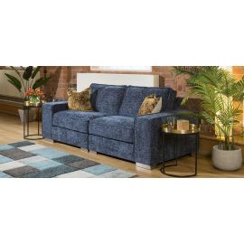 Designer Modern Soft Deep 2 Seater Sofa Many Colours & Fabric Lexci 2S