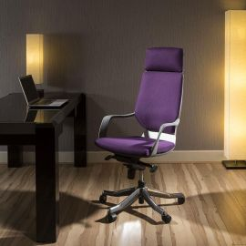 Luxury High Back Office Chair Tarot Purple Executive Ergonomic Xenon