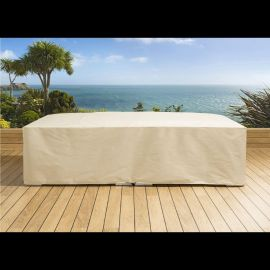 3 Seater Garden / Outdoor Sofa Cover Beige W3200mm D1000mm H720mm