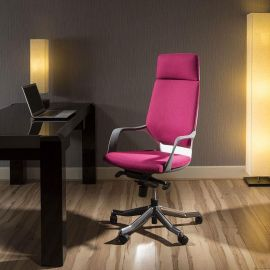 Luxury High Back Office Chair Diablo red/pink Executive Ergonomic Xeno