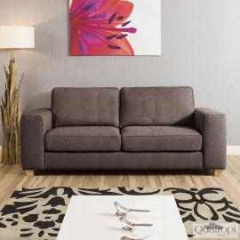 Luxurious Modern Large Comfy 2.3m 3 seater settee/Sofa Grey Today 3S