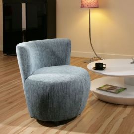 Amazing Modern Blue Fabric Armchair/Armchairs Tub Chair/Chairs New