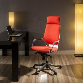 Luxury High Back Office Chair tortuga orange Executive Ergonomic Xenon