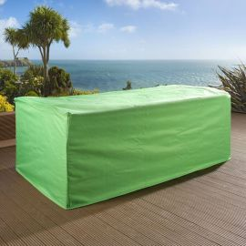 Green Rain Cover for Garden 4 seater Sofa Settee Couch W268xD91xH74cm