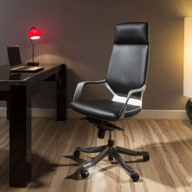 Luxury High Back Office Chair Black Executive Ergonomic Modern Xenon
