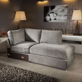 Quatropi Gala Range Modular Sofa Settee Add on Open Corner R Section