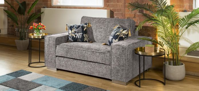 Massive Modern Soft Oversized Armchair Many Colours & Fabrics Lexci