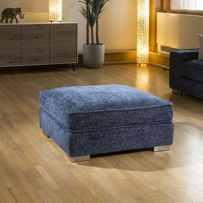 Luxury Massive Soft Deep 950 x 950 Footstool Many Colours & Fabrics