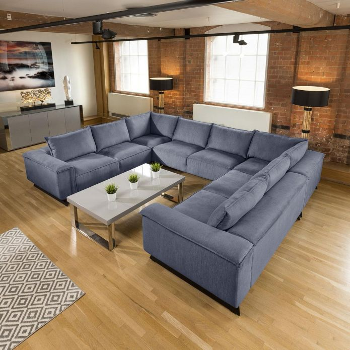 Wow Magnificent Effie Giant Corner U Shape Cinima Sofa 3.8 x 3.0mtr