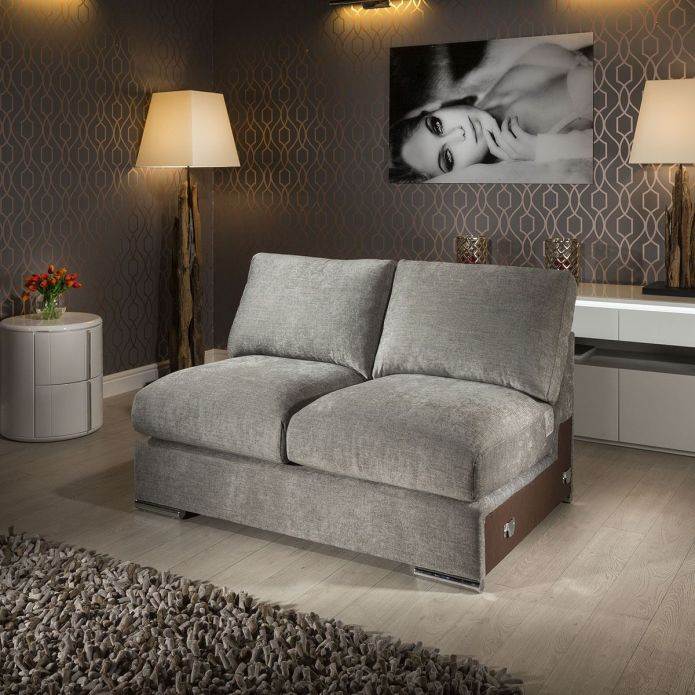 Quatropi Gala Range 1.4m Modular Sofa Settee Add on Middle Section 140