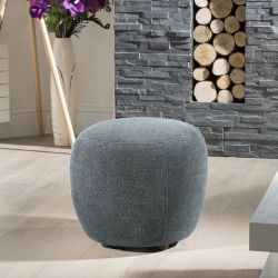 Round 50cm Footstool Made to Order, Choose which colour swatches you would like