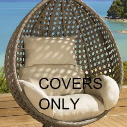 Cushion Cover Set for SINGLE seater SD06 Hanging Chair BEIGE