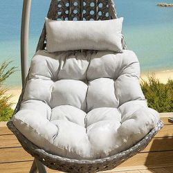 Cushion Set for SINGLE seater Banana Hanging Chair SILVER