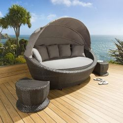 Replacement cushion cover set for ESR7023 blk gry nc canopy