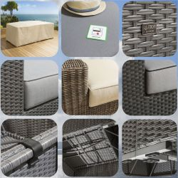 Rattan Material Swatches - click to view our range of fabric swatches