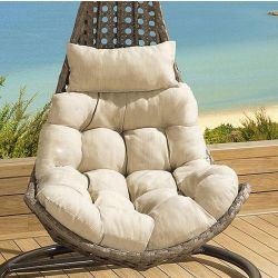 Cushion Set for SINGLE seater Banana Hanging Chair BEIGE