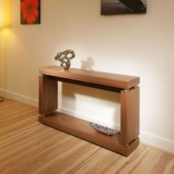 Modern Designer Console / Hall / Occasional Table in Walnut 397X
