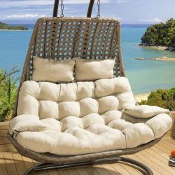 Cushion Set for DOUBLE seater Banana Hanging Chair BEIGE
